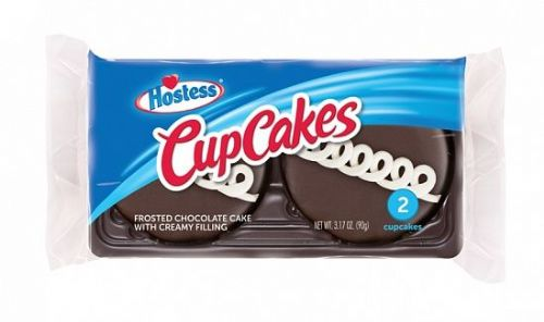 Hostess CupCakes Chocolate 2 Pack 90g ( US )